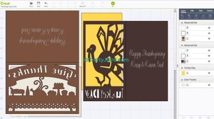 Turkey Day Cards -- Visit CraftyJBird.com for more info...