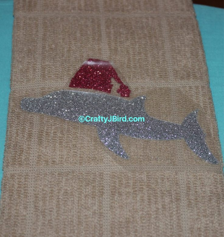 Sea Life Christmas Towels -- Visit CraftyJBird.com for more info...