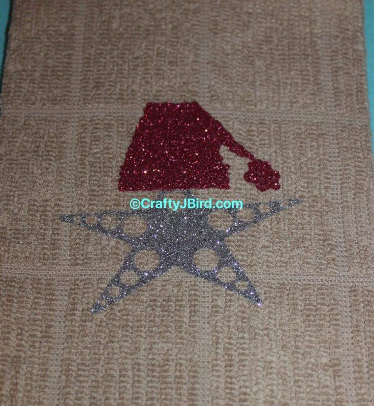 Sea Life Christmas Towels -- Visit CraftyJBird.com for more info...