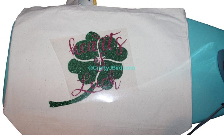 Hearts of Luck Clover Bag -- Visit CraftyJBird.com for more info...