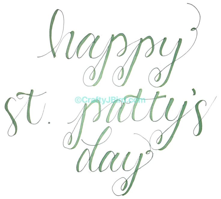 Happy St. Patty's Day -- Visit CraftyJBird.com for more info...