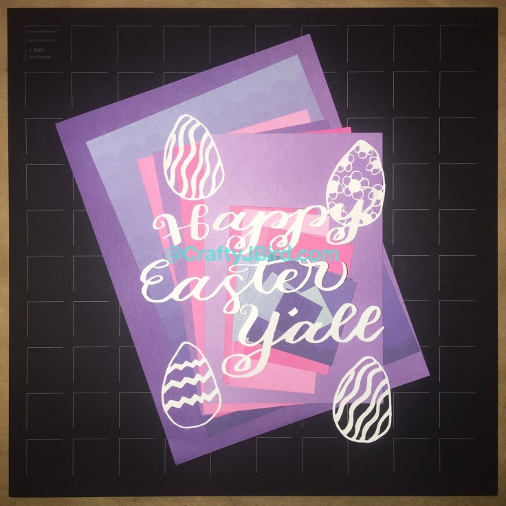 Happy Easter Y'all Double Page -- Visit CraftyJBird.com for more info...