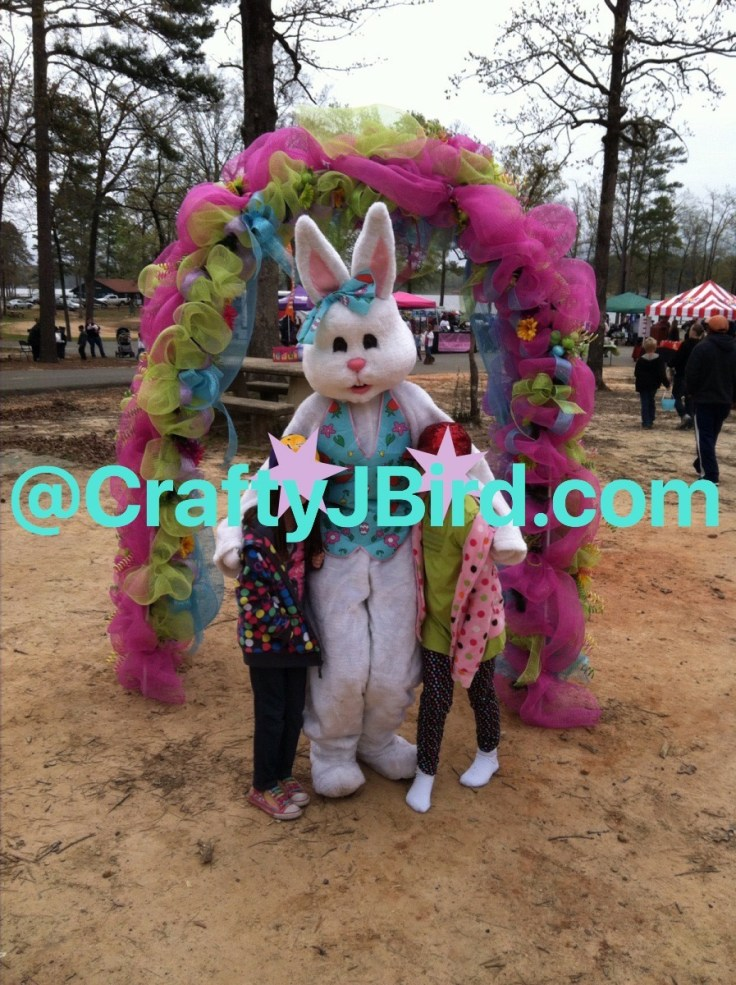 Easter on the Bayou -- Visit CraftyJBird.com for more info...