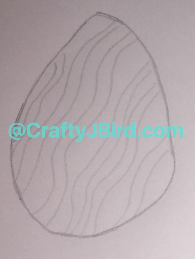 Easter Egg Drawing -- Visit CraftyJBird.com for more info...