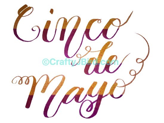 Cinco de Mayo -- Visit CraftyJBird.com for more info...