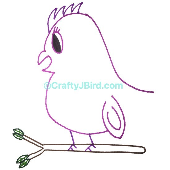 Crafty JBird's Logo -- Visit CraftyJBird.com for more info...