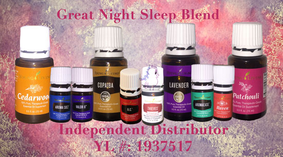 New Great Night Sleep Blend -- Visit CraftyJBird.com for more info...