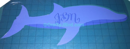 Teacher Dolphin Clipboard -- Visit CraftyJBird.com for more info...