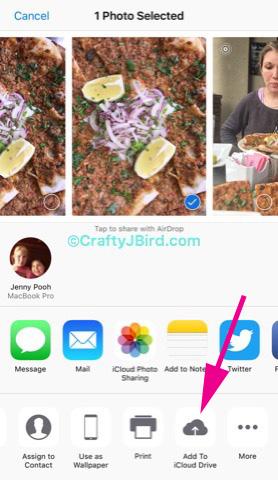 Apple iCloud Drive -- Visit CraftyJBird.com for more info...