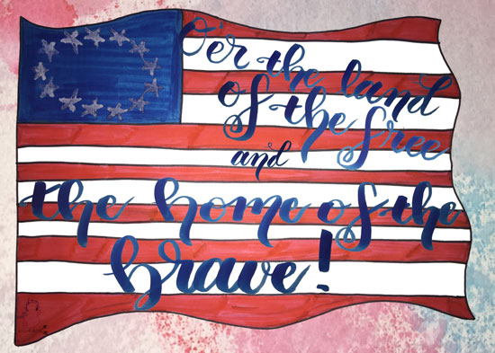 Happy Fourth of July -- Visit CraftyJBird.com for more info...