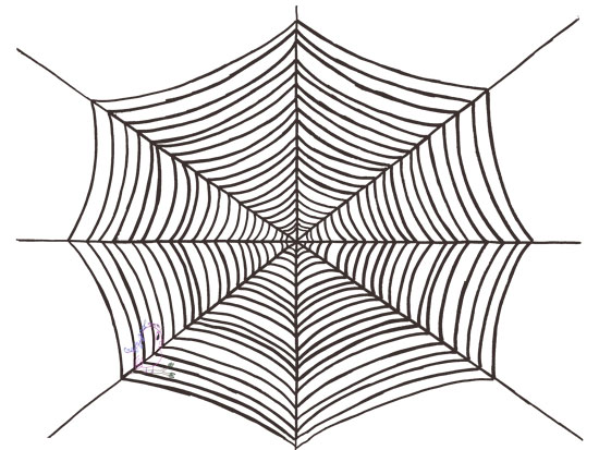 Don't Get Caught in a Spider Web - Happy Halloween -- Visit CraftyJBird.com for more info...