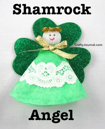 Shamrock Angel by Crafty Journal