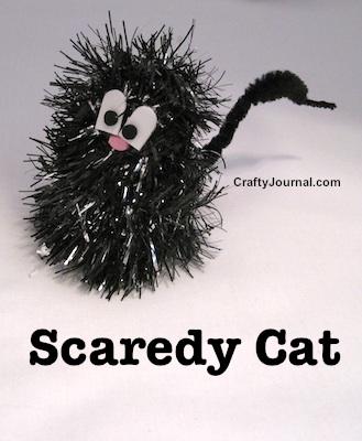 Crafty Journal - Scaredy Cat