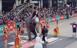 The Ringling Bros. elephant (1980s)