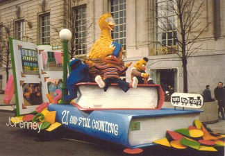 Sesame Street Float (1980s)