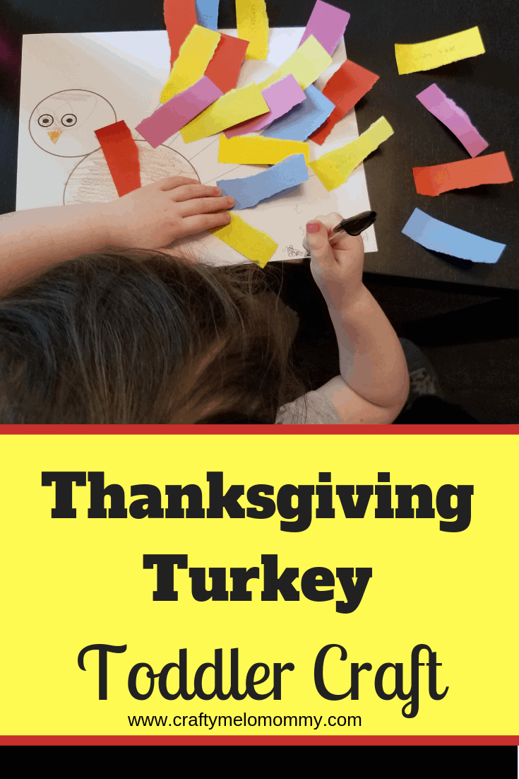 Thanksgiving Turkey Toddler Craft