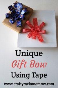 Easy Fast DIY Gift Bow