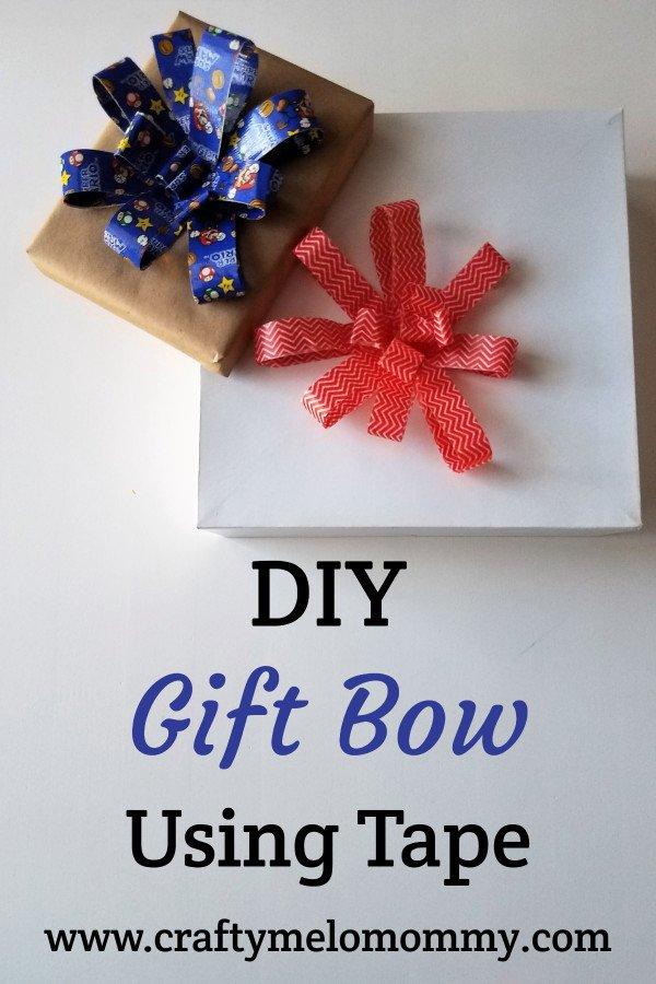 Fast DIY Gift Bow