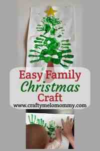 Easy Handprint Christmas Craft