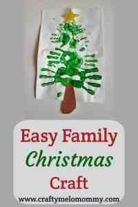 Easy Family Christmas Craft