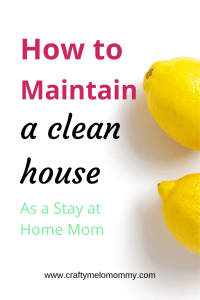 The Ultimate household cleaning schedule for SAHMs