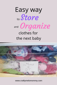 Store kids clothes with items from the Dollar Tree!! Easy and Budget friendly. #easyorganization #livingonabudget #momlife