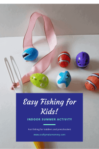 Easy, Fun, and Fast!!! Great indoor activity for toddlers and preschoolers.