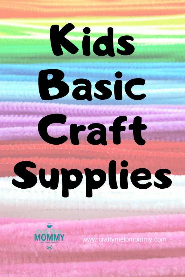Must have craft supplies for your child's craft box