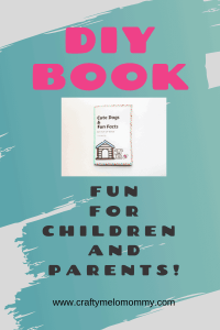 Ever wonder how to make a book? Try this fun lift the flap book with your kids. It will also help you and your child learn some fun facts about dogs.