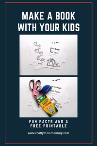 Make a lift the flap book for your toddler.