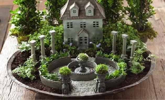 11 Beautiful DIY Fairy Gardens