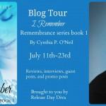 I Remember by Cynthia P. O'Neal #booktour