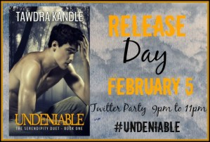 Undeniable by Tawdra Kandle #bookrelease