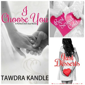 The Perfect Dish series by Tawdra Kandle #ICYShower #freeEbook