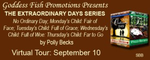 THE EXTRAORDINARY DAYS SERIES by Polly Becks @goddessfish