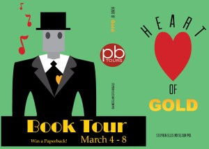 Book Tour and Giveaway – Heart of Gold by Stephen Ellis Natelson MD