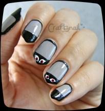 spooky eyes nails