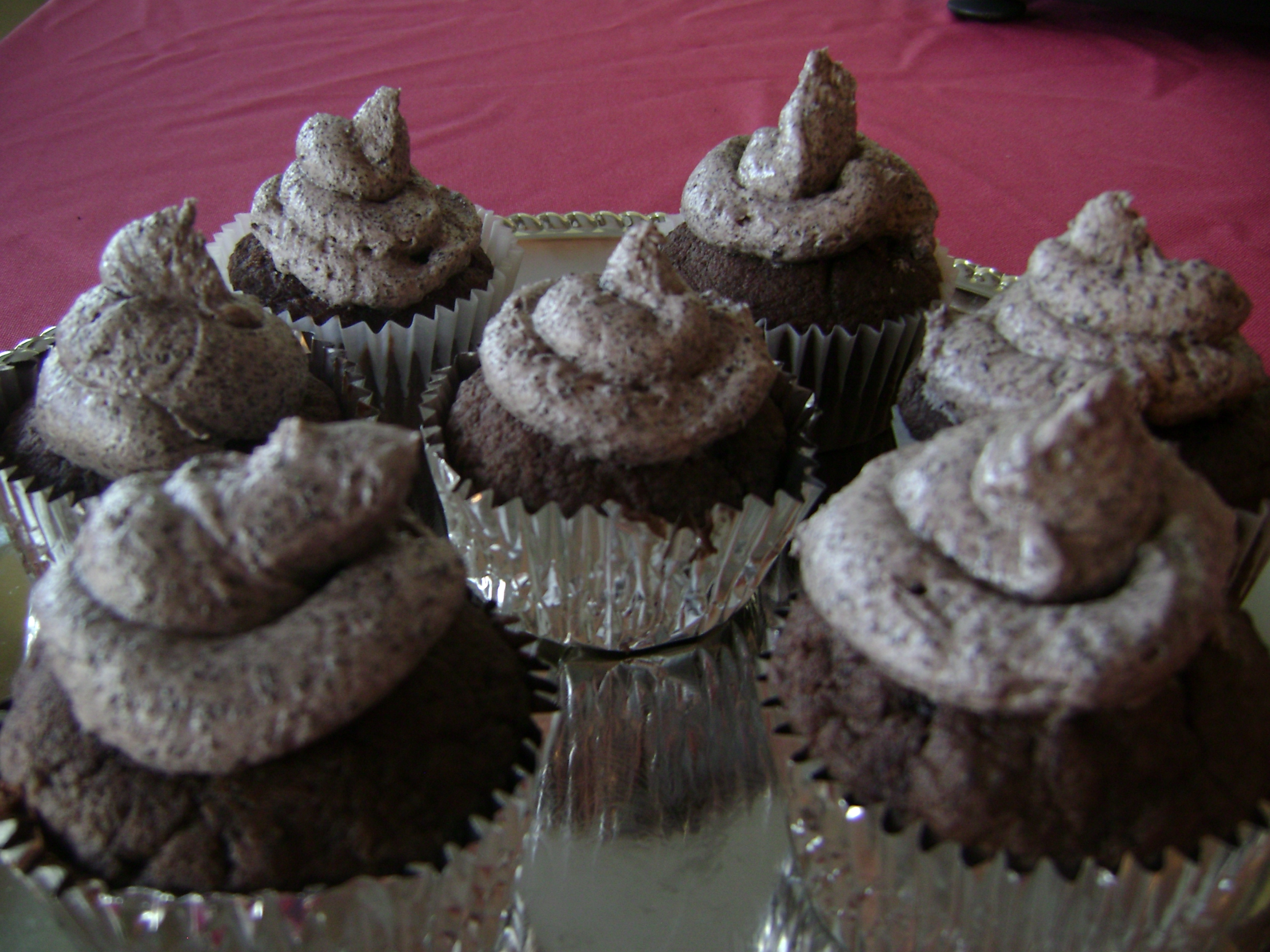 Big Book Of Cupcakes / Cookies And Cream Cupcake