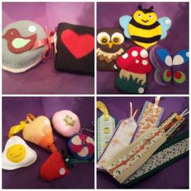 Jackie Nickols - Hand stitched sewing items