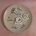How To Make Christmas Eve Plates With Cricut Crafty Sewing Sew