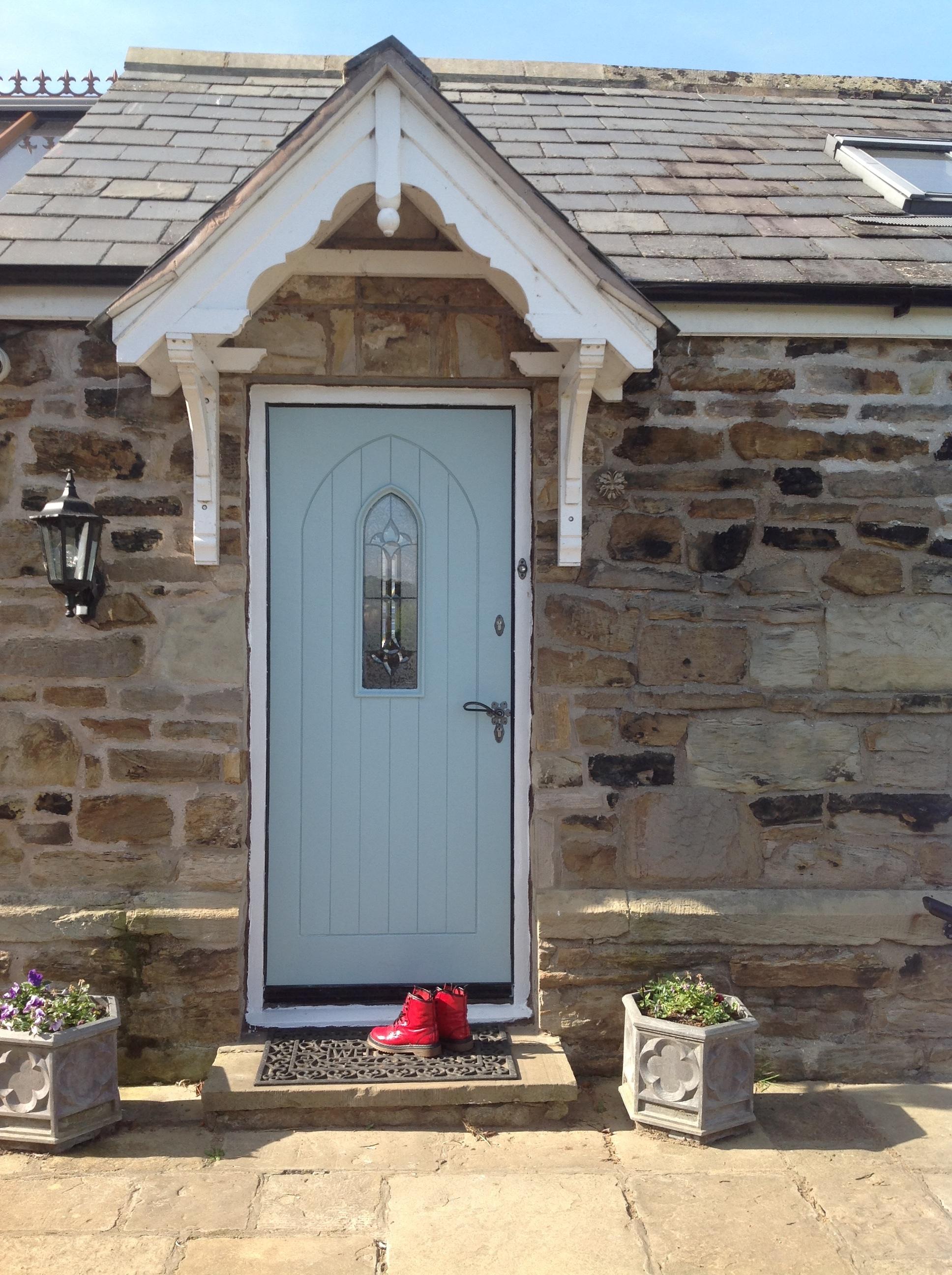 Duck Egg Blue Front Door Autumn Spritz Crafty Souls Together