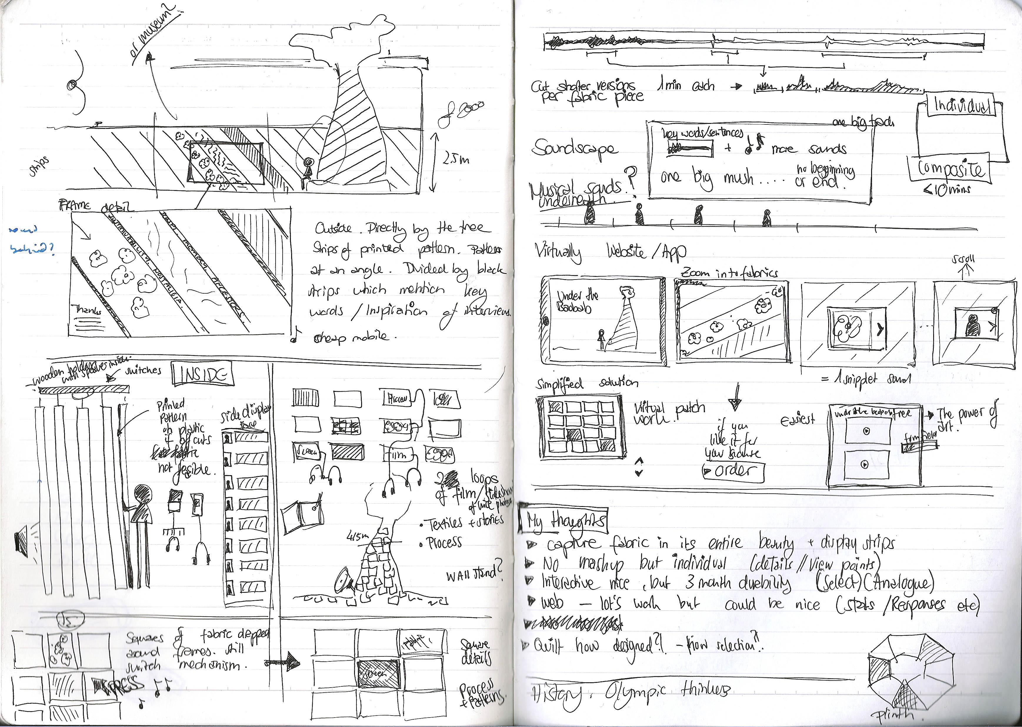 Baobab Sketch Ideas