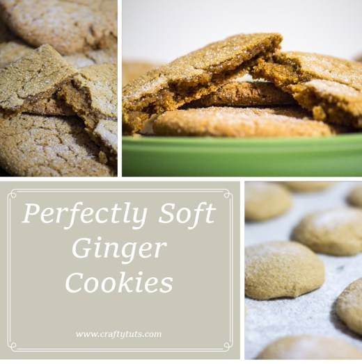 Perfectly soft ginger cookies 2