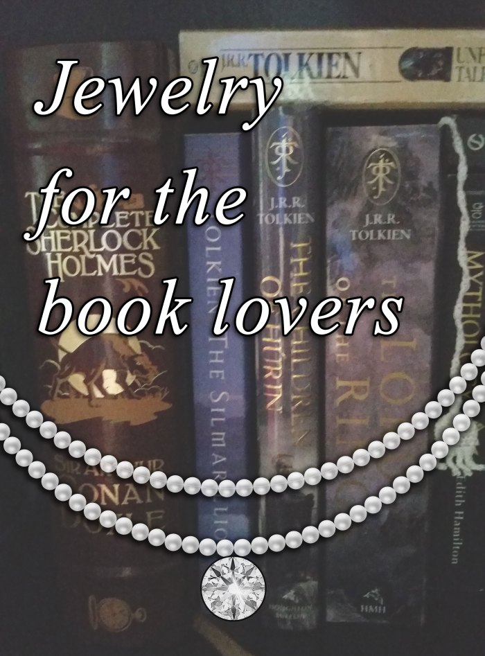 Jewelry for book lovers 1
