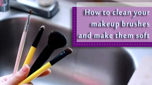 How to clean your makeup brushes and make them soft 4