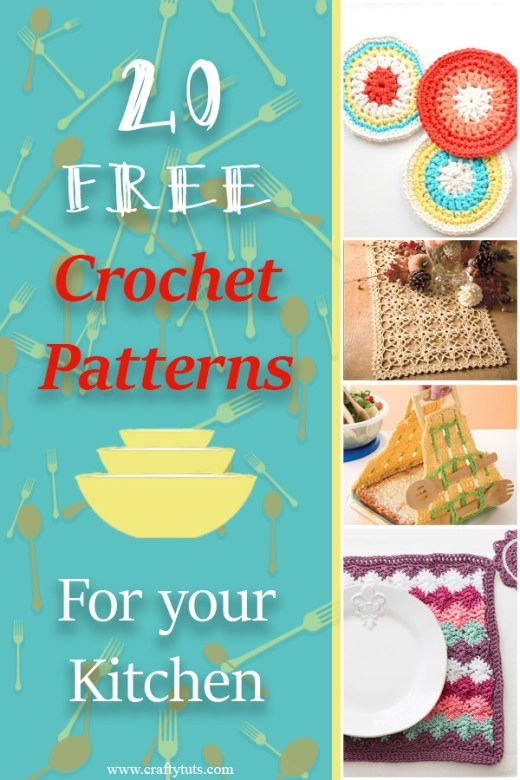 Free Crochet Patterns for Your Kitchen 8