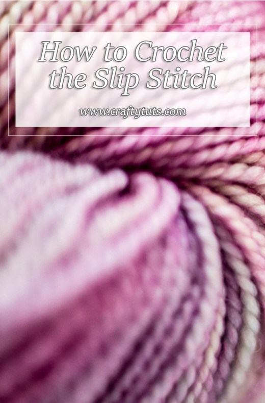 How to crochet the slip stitch 2