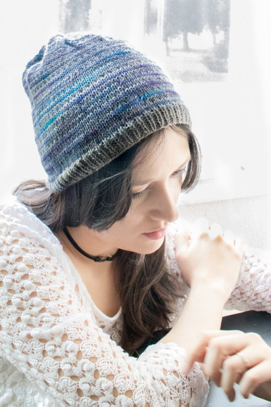 Fair Isle has quickly became a trend and is now a favorite of many knitters. If you have been waiting to test the water of fair isle, but are intimidated by the many color changes and complicated designs, this project is for you. This simple, yet beautiful design will provide you the opportunity to test the fair isle technique because only two colors are used and the motif is extremely easy to recreate. The design is also formed by many stripes rows, minimizing the color changes between rows.