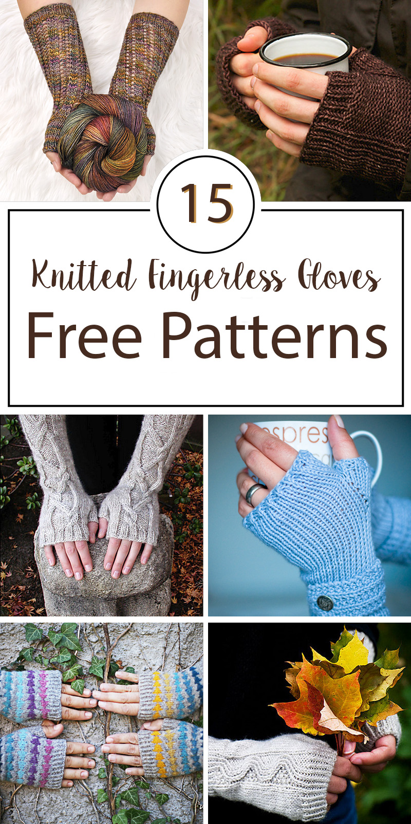 Knitted Fingerless Gloves Free Patterns Crafty Tutorials