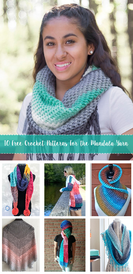 Free Crochet Patterns For the Mandala Yarn 1